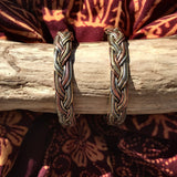 3 Metal Wire Knot Bangle-JEWELLERY / BANGLE-Craft for Culture Traders (NEP)-The Outpost NZ