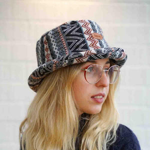 Naga Pattern Hat - The Outpost NZ