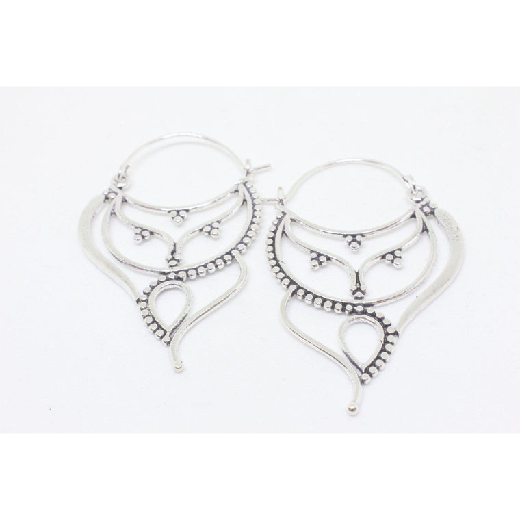 Aaliyah Silver Plated Earrings