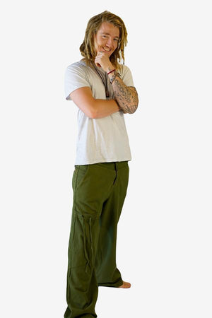 Alex Pants-CLOTHING / PANTS-Choice Fashion (NEP)-Green-S-The Outpost NZ[Mens]