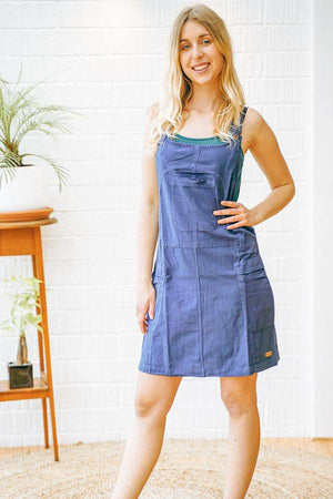 Cute as Summer Overall Dress - The Outpost NZ