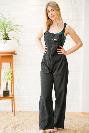 Rider Regular fit Cotton Dungarees - The Outpost NZ