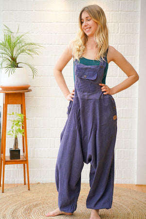 Aladdin Dungarees Plain - The Outpost NZ