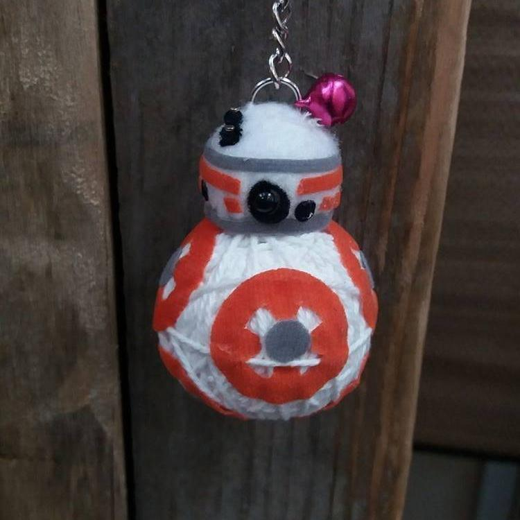 BB-8 Key Ring-Stationery-Not specified-The Outpost NZ
