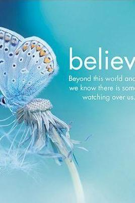 Believe Butterfly Card-NZ CARDS-Affirmations (NZ)-The Outpost NZ