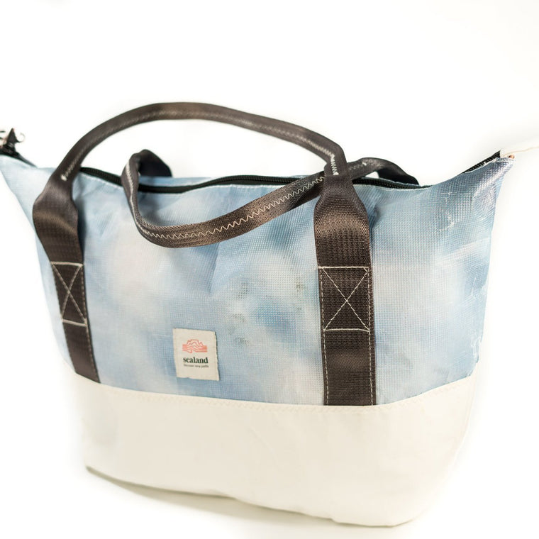 Bettie Sky/White Carry Bag ABM