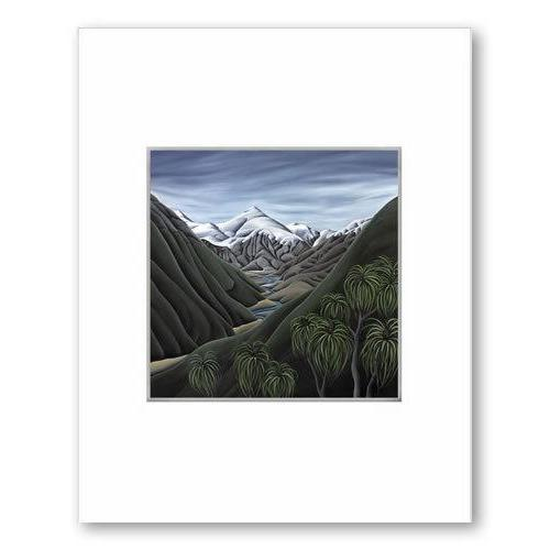 Beyond The Cascade NZ Print 28 x 35 cm-NZ ART-Image Vault ltd (NZ)-The Outpost NZ