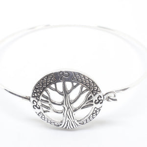 Birch Sterling Silver Bracelet-JEWELLERY / BRACELET-Silver Lion (THA)-The Outpost NZ