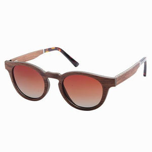 Blairich Sunnies (P)-ACCESSORIES / SUNGLASSES-Lonsy Eyewear International Co.Ltd (CHI)-Brown, Brown Lense-The Outpost NZ