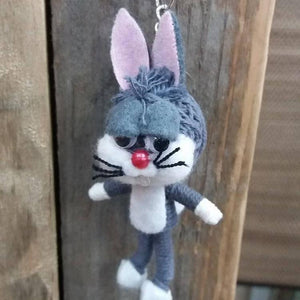 Bugs Bunny Key Ring-Stationery-Not specified-The Outpost NZ