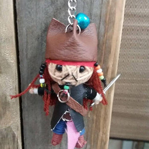 Captain Jack Sparrow Key Ring-Stationery-Not specified-The Outpost NZ