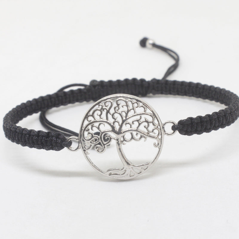 Colette Silver Design Bracelet-JEWELLERY / BRACELET-Chee Shop (THA)-Large tree-The Outpost NZ