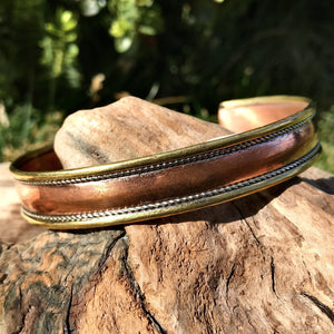Copper Plain Bangle-JEWELLERY / BANGLE-Craft for Culture Traders (NEP)-The Outpost NZ