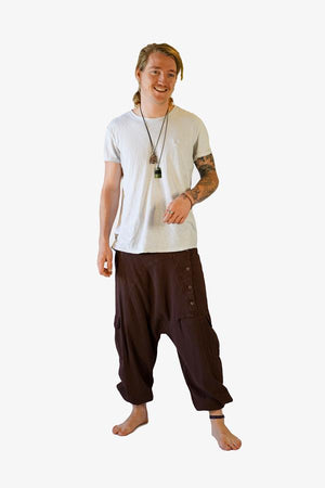 Crop Poseidon Pants-CLOTHING / PANTS-Choice Fashion (NEP)-Blue-Small-The Outpost NZ[Mens]