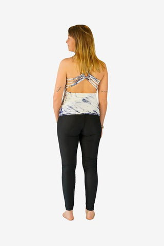 Cross Low Back Top-CLOTHING / TOPS-Jordano Shop (THA)-Plain-Black-The Outpost NZ