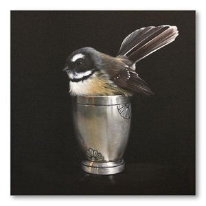 Cute in a Cup NZ Print 28 x 35 cm-NZ ART-Image Vault ltd (NZ)-The Outpost NZ