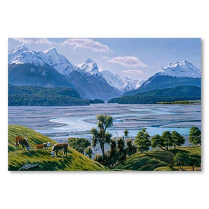 Dart River Canvas By Peter Morath,NZ ART,The Outpost NZ The Outpost NZ, New Zealand, outpost, Queenstown