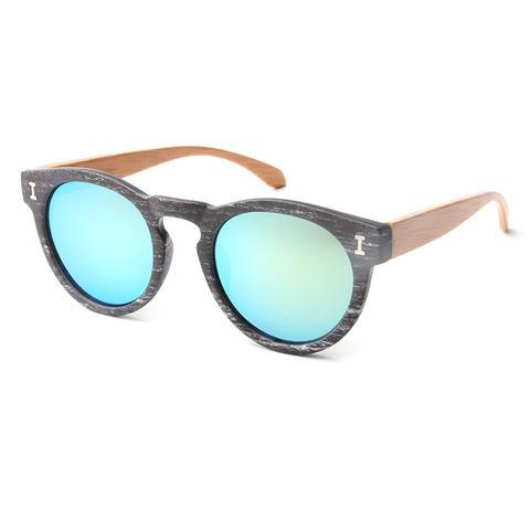 Dasher Sunnies (P)-ACCESSORIES / SUNGLASSES-Lonsy Eyewear International Co.Ltd (CHI)-Grey, Blue Lense-The Outpost NZ