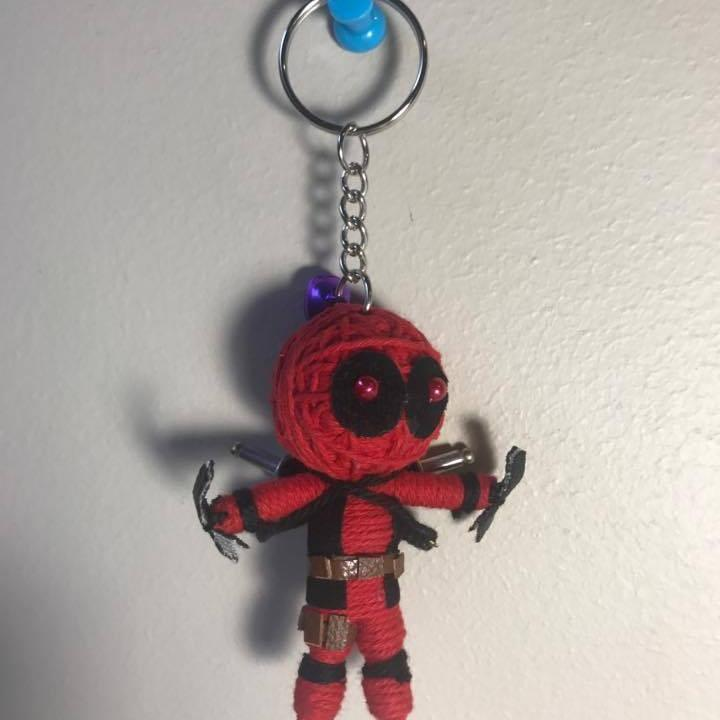 Deadpool Key Ring-STATIONERY-A-ON (THA)-The Outpost NZ