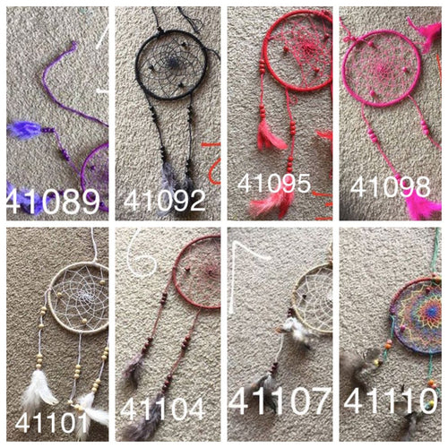 Della Dreamcatchers-HOMEWARES-Dahal Handicraft (NEP)-Purple-10cm-The Outpost NZ