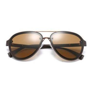Double Brow Aviator Sunglasses-ACCESSORIES / SUNGLASSES-Lonsy Eyewear International Co.Ltd (CHI)-The Outpost NZ