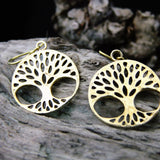 Efigenia Brass Earrings-JEWELLERY / EARRINGS-Gopal Brass Man (IND)-The Outpost NZ