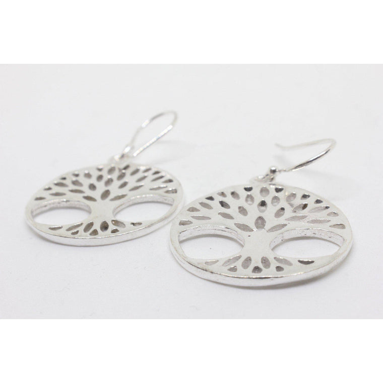 Efigenia Silver Plated Earrings