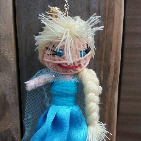 Elsa Key Ring-Stationery-Not specified-The Outpost NZ