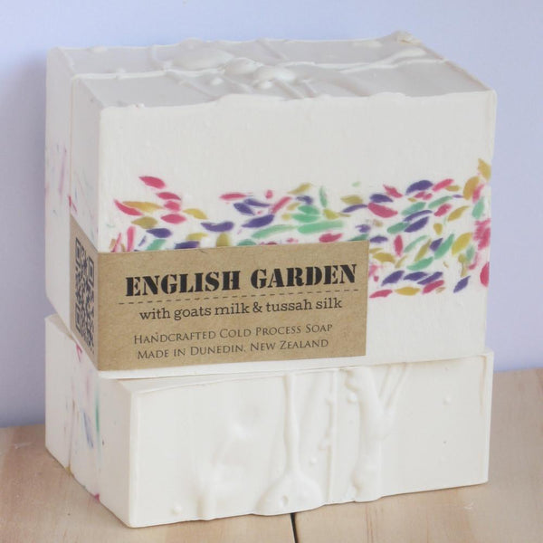 English Garden Artisan Soap-NZ SKINCARE-Inga Ford Soapmaker (NZ)-The Outpost NZ
