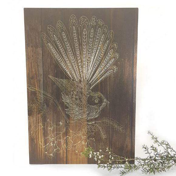 Fantail Large ACM Wall Art