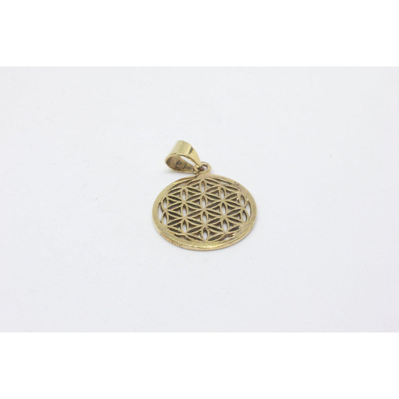 Feray Brass Pendant-JEWELLERY / NECKLACE & PENDANT-Gopal Brass Man (IND)-The Outpost NZ