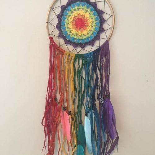Festival Rainbow Dreamcatchers-HOMEWARES-Iyada Shop (THA)-The Outpost NZ