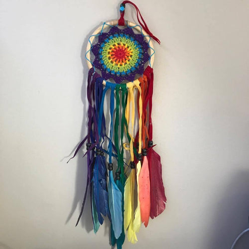 Festival Rainbow Dreamcatchers-HOMEWARES-Not specified-The Outpost NZ