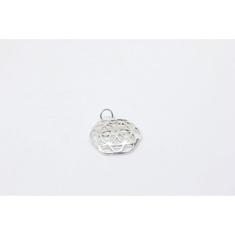 Fiona Silver Plated Pendant