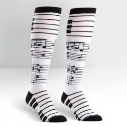 Footnotes Female Knee Socks-NZ ACCESSORIES-Espial Marketing Ltd (NZ)-The Outpost NZ