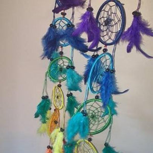 Hanging R/B Dreamcatchers Set-HOMEWARES-Wattanaporn (THA)-The Outpost NZ
