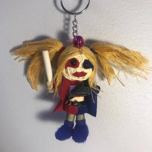 Harley Quinn Key Ring-STATIONERY-A-ON (THA)-The Outpost NZ