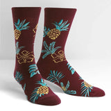 Hawaiian Sock Day Men's Crew Socks-NZ ACCESSORIES-Espial Marketing Ltd (NZ)-The Outpost NZ