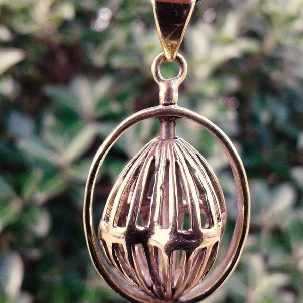 Heleentje Brass Pendant-Jewellery-Not specified-The Outpost NZ