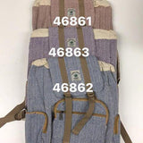 Hemp 3 Pocket Strap Backpack-ACCESSORIES / BAGS-HEMP HOUSE NEPAL (NEP)-Maroon-The Outpost NZ