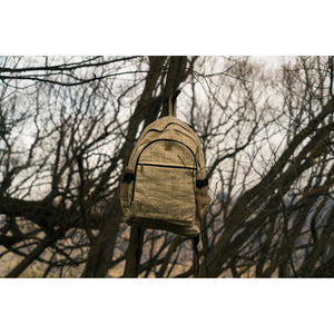 Hemp Backpack-ACCESSORIES / BAGS-Thamel Handicraft Collection (NEP)-The Outpost NZ