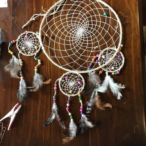 Hemp Dreamcatchers-HOMEWARES-Not specified-Yin Yang-The Outpost NZ