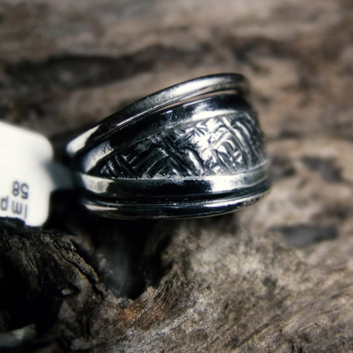 Imprint Silver Ring-JEWELLERY / RINGS-Jewelery Center (THA)-52-The Outpost NZ