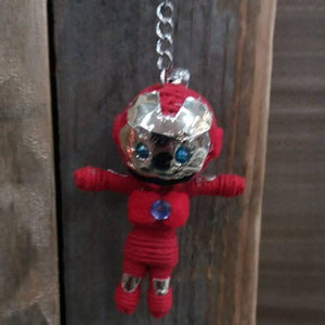 Iron Man Key Ring-Stationery-Not specified-The Outpost NZ
