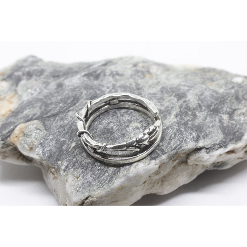 Isaree Silver Ring-JEWELLERY / RINGS-Silver Mature (THA)-52-The Outpost NZ