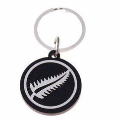 Keepers Keyrings-NZ STATIONERY-Ian Blackwell (NZ)-Black-Fern-The Outpost NZ