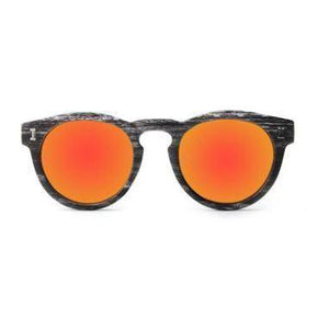 Keyhole Sunglasses-ACCESSORIES / SUNGLASSES-Lonsy Eyewear International Co.Ltd (CHI)-Vintage Red-The Outpost NZ
