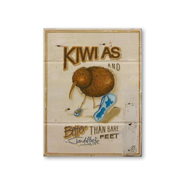 Kiwi As Canvas By Jason Kelly
