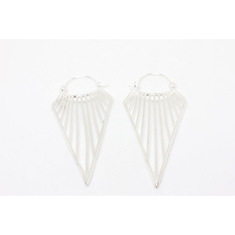 Lanakila Silver Plated Earrings