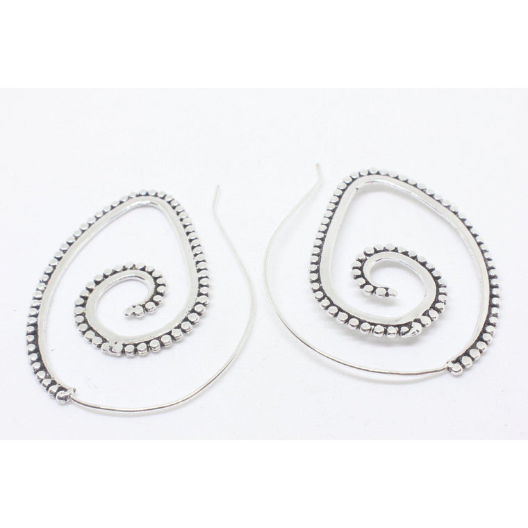 Lavanya Silver Plated Earrings
